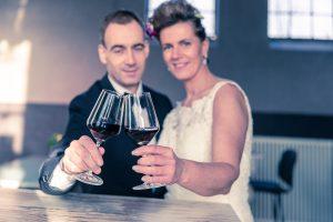 Colorstudio61 bruidsfotograaf trouwfotograaf Bruidsfotografie Eindhoven contrastrijke intieme en tijdloze stijl